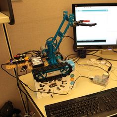 16 makeblock starter robot with arm attachment raspberrypi using a