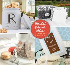 Cookie Themed #Bridal #Shower Ideas from www.daisy-days.com #cookies