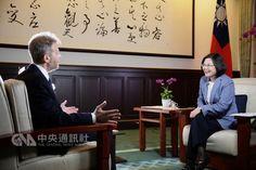總統接受華爾街日報專訪全文 - 中央通訊社