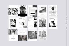 Social Media Pack B&W by Ruben Stom on @creativemarket