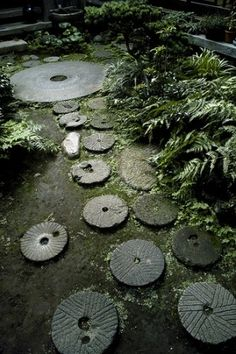 Path in a Japanese garden