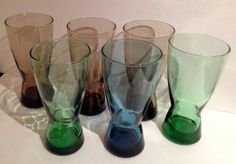 Vintage Mod Mid Century Retro Large Drinking or by BuckysFinds, $27.00