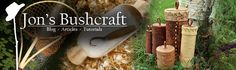 Bushcraft How-To Articles - JonsBushcraft.com lots of cool things to make and skills to have, really good site you should check it out-DE