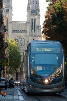 Bordeaux Tramway, France