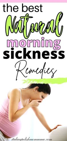 Morning sickness relief for your first trimester of pregnancy! Here are THE BEST all natural morning sickness remedies that have helped me survive 4 pregnancies! I've tried them all and here are honest pregnancy tips to help moms get through their first trimester to relieve morning or ALL DAY sickness! #morningsickness #pregnancytips #firsttrimester
