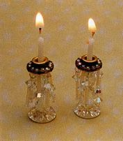 diy fancy candlesticks w/birthday candle-pillars.