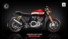 pinterest.com/fra411 #classic #motorbikes - xj rocket by Kentauros