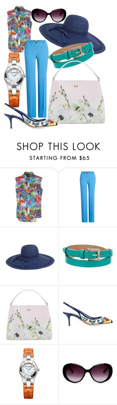 """""""Filter the sun in style"""" by lloyds ❤ liked on Polyvore featuring Love Moschino, Roberto Cavalli, Magid, Dolce&Gabbana, Ted Baker, Baume & Mercier and Moschino"""