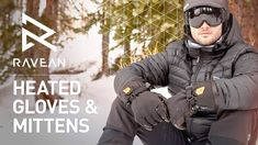 Still remember the RAVEAN Heated jackets that raised 1.3 millions on Kickstarter? They're now back with an awesome heated glove! Check it out. #glove #mitt #heated #gear #outdoor #fun #snow #winter #cold
