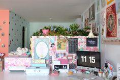 here's an idea: indoor butterfly garden
