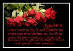 Psalm 9:13-14