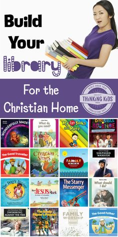 Build Your Library for the Christian Home -- Great book and decor choices!