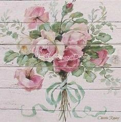 Christie Repasy Door | How to Paint Roses & other Flowers