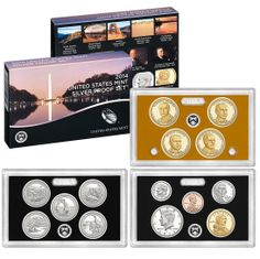 2013 United States Mint Silver Proof Set - US Mint - 14 Coins - San Francisco America The Beautiful Quarters, Sell Coins, Coin Dealers, American Dollar, Coin Store, United States Mint, Coins For Sale, Proof Coins, Coin Collecting