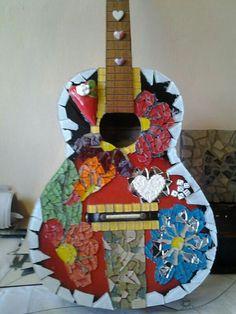Guitar in progress