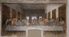One of the most famous artworks from the renaissance time period. Leonardo Da Vinci's interpretation of the last supper.