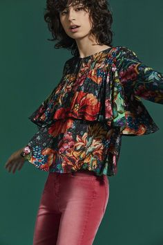 Desigual blouse with a floral print! Fall in love with Desigual new arrivals!