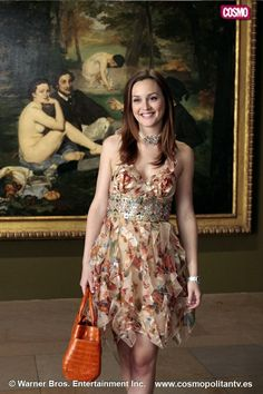 Loved this dress. The Paris episodes were the best fashion. Gossip Girl -Blair
