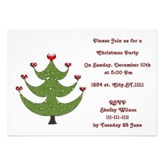 fun Holiday Party Invitations #Christmas #Holidays