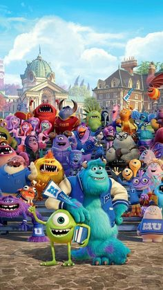 May 2020 - See more ideas about Monsters inc, Disney wallpaper and Cute disney wallpaper. Disney Phone Wallpaper, Wallpaper Iphone Cute, Cartoon Wallpaper, Cute Wallpapers, Disney Art, Disney Movies, Disney Pixar, Monster University, Monsters Inc