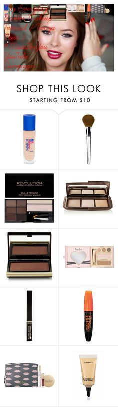 """""""My Everyday Winter Makeup Tutorial   Tanya Burr   #MadeForYou YouTube Campaign"""" by oroartye-1 on Polyvore featuring beauty, Rimmel, Clinique, Hourglass Cosmetics, Kevyn Aucoin, L'Oréal Paris and MAC Cosmetics"""
