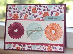 Little Bay Stampin': Start-to-Finish Sunday #2: Faux Watercolor - featuring Stampin' Up! #stampinup