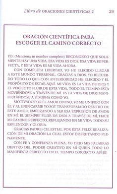 ORACION CIENTIFICA PARA ESCOGER EL CAMINO CORECTO – CONEXIÓN UNIVERSAL