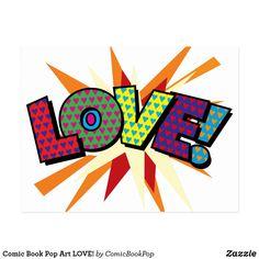 Comic Book Pop Art LOVE!