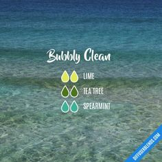 Bubbly clean blend