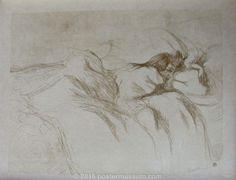 Woman Reclining - Waking-up (Elles Series)