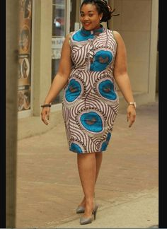 Kitenge Dresses for Plus Size Women