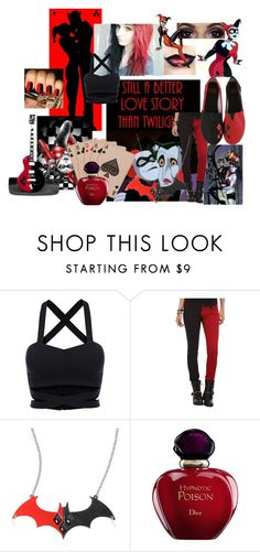 """Always Harley"" by lanalulutz ❤ liked on Polyvore featuring Mad Love, Tripp and Christian Dior"