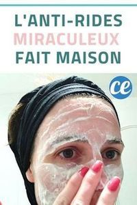 L'Anti-Rides Miraculeux Que l'On Peut Facilement Faire Soi-Même. - L'Anti-Rides Miraculeux Que l'On Peut Facilement Faire Soi-Même. Diy Beauty Face, Beauty Care, Beauty Skin, Mascara Hacks, Beauty Hacks For Teens, Beauty Ideas, Wrinkle Remedies, Anti Ride, Health And Beauty Tips