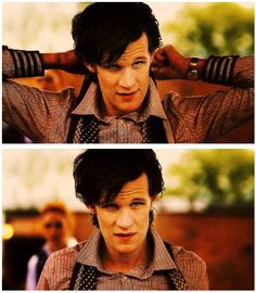 the first time I started finding matt smith very sexy and uuber attractive