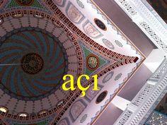 ---------- açı ---------- Benim açımdan sorun yok. bu açıdan açıölçer ---------- https://www.facebook.com/LaytmotifSprachkalender/ http://www.laytmotif.de Foto: Kılıç Ali Paşa Camii, Istanbul ---------- Winkel, Blickwinkel ---------- Von mir aus kein Problem. unter diesem Gesichtspunkt, insoweit Winkelmesser ----------