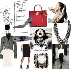 """Job Interview"" by bronzebellacouture on Polyvore"