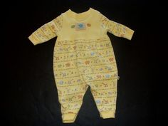 You are bidding on ONE sleeper/outfit  for your baby boy or girl    From: Carters - John Lennon    Real Love/Musical Parade theme    Size: 0-3 months or Newborn  (size tag has been cut off)  Color: Yellow