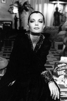 """Actress Romy Schneider"" Paris 1974, photo by Italian photographer GIANCARLO BOTTI (born 1931)"