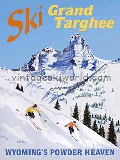 Grand Targhee Ski Poster