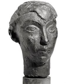 The Head of Berenice Abbott, 1929 Sculpted by Isamu Noguchi