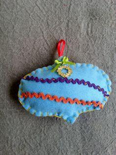 Handmade lucky Christmas pomegranate Pomegranate, Coin Purse, Christmas Ornaments, Holiday Decor, Unique, Handmade, Home Decor, Granada, Hand Made
