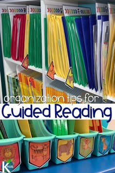 3 tips to help you organize your guided reading books for easy planning of small group instruction. Keep your leveled library right at your fingertips! Guided Reading Lessons, Guided Reading Groups, Reading Centers, Reading Resources, Reading Activities, Reading Books, Reading Tips, Literacy Activities, Teaching Reading