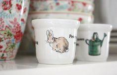 peter rabbit egg cups