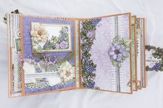 Leisha's Blog: Flip Fold album with Heartfelt Creations.