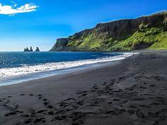 Vik Black Sand Beach Iceland 2