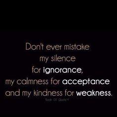 Please don't misunderstand me