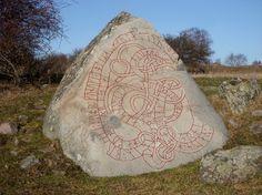 11th century rune stone mentioning King Hacon Red (Håkan Röde) of Sweden.