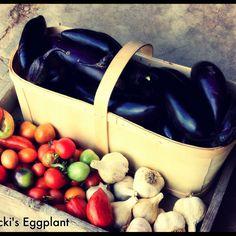 Sosnicki's Organic Eggplant!