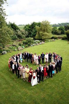 Bröllopsfoto gäster
