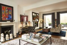 A five-bedroom modern house on Cambridge Place in Kensington has come on the market through You Home estate agents 5 Bedroom House, Modern Bedroom, Gallery Wall, London, Home Decor, Bedroom Modern, Decoration Home, Room Decor, Contemporary Bedroom